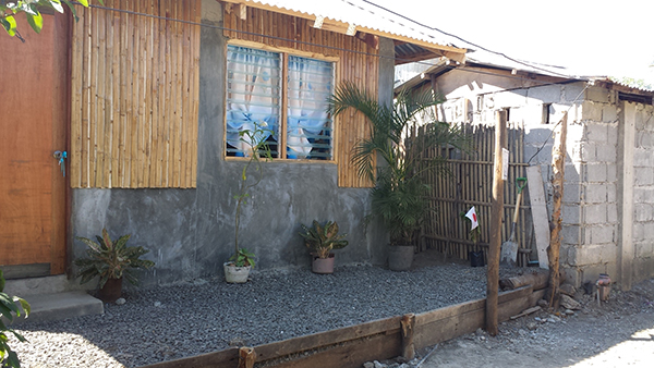 A number of corehouses were handed over to their new owners as part of commemorative activities for the Haiyan anniversary. May families hope to be moving into their new homes by Christmas.