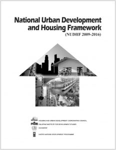 National Urban Development and Housing Framework (2009-2016)-1