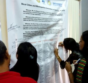 Sorsogon City Hosts the Region V Cities Climate Change Forum 2010 10