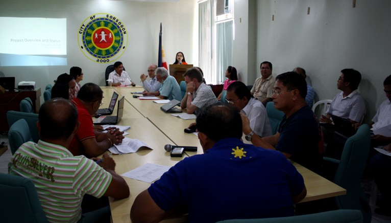 Sorsogon City reviews its climate change program in a joint executive-legislative assembly