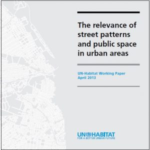 Relevance of street patterns public space Cover