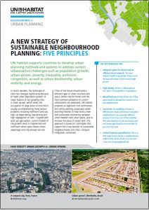 Strategy of neighborhood planning Cover